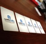 WebFolio Tarjetas de presentación